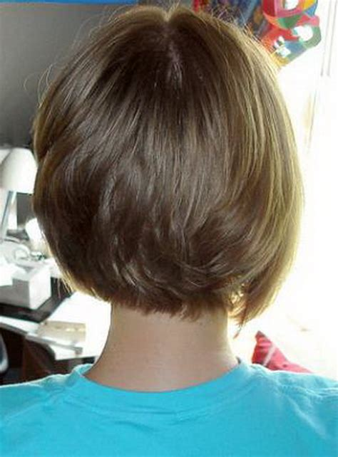 short bob hairstyles front and back view