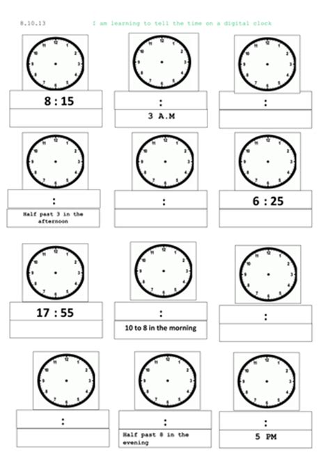 all worksheets 187 clock worksheets ks2 printable
