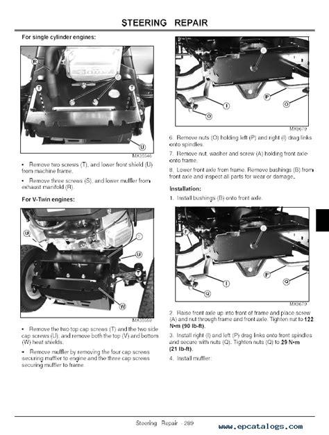 John Deere 100 Series Manual John Deere Manuals John