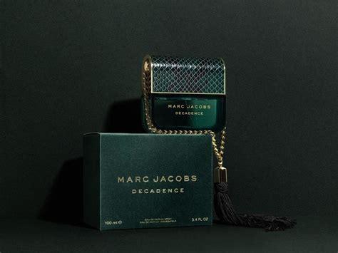 marc jacobs latest fragrance decadence  dieline