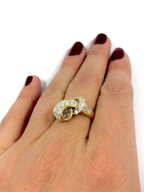 ribbon gold ring for sale at 1stdibs