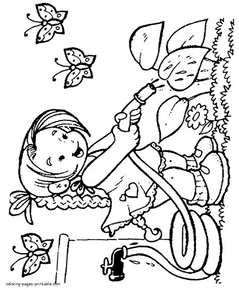 water play coloring page water play coloring pages