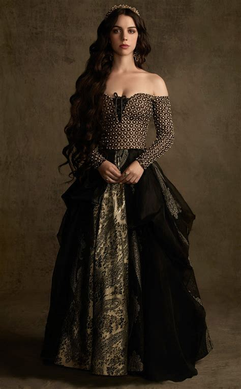 reign fashion the top 30 dresses queen mary wore on the cw s quot reign quot