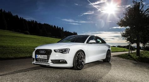 Audi A5 Sportback Facelift by Audi A5 Sportback Facelift Becomes Abt As5 Sportback