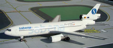 Herpa Sabena Mcdonnell Douglas Dc 10 30 H528047 aviation200 models adamjets adamjets airplane