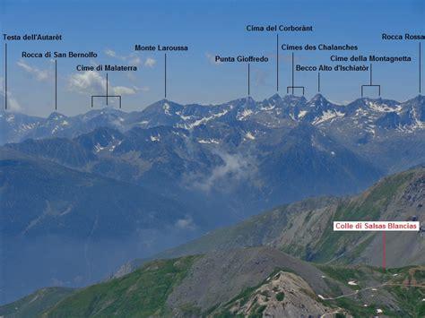alpi marittime torino rocca la meja 2831 m cresta sud est