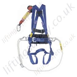 titan restraint and work positioning height safety kits