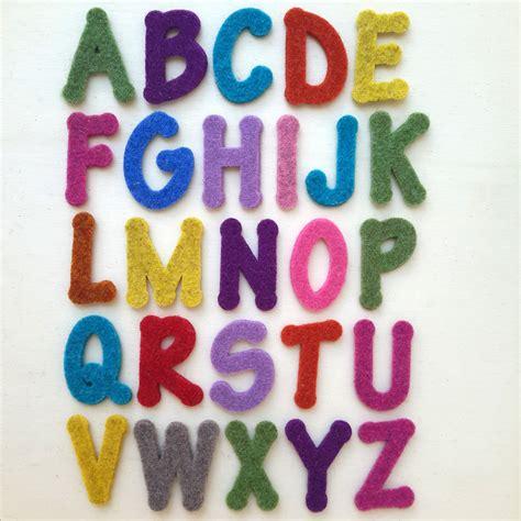 lettere pannolenci lettere cose di