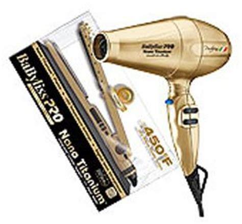 Babyliss Hair Dryer Gold babylisspro nano titanium babyliss pro portofino 6600 nano titanium dryer nano titanium 1 25