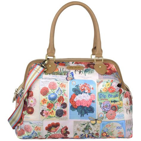 Tas Aigner Original Aigner Satchel Floral Flower pip studio garden of pip m carry all bag by fifty one percent notonthehighstreet