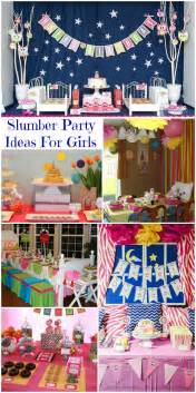 Party ideas visit our special slumber party category we have games
