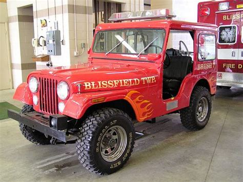 jeep brush truck blissfield township department jeep brush truck