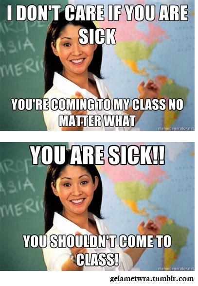 School Teacher Meme - more of the unhelpful high school teacher smosh