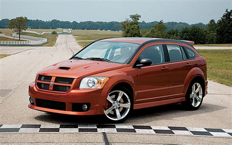 dodge caliber srt  road tests motor trend
