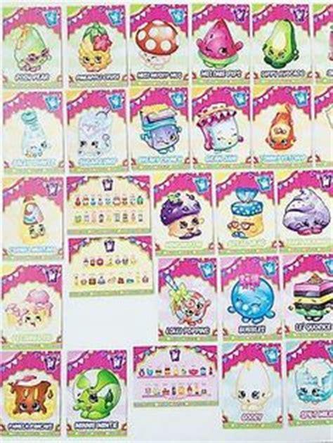 Shopkin Trading Card Template by Shopkins Glitter Card 103 Lippy Season 1 2