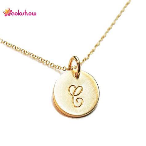 cadenas de plata para mujer con iniciales las 25 mejores ideas sobre collares con las iniciales en