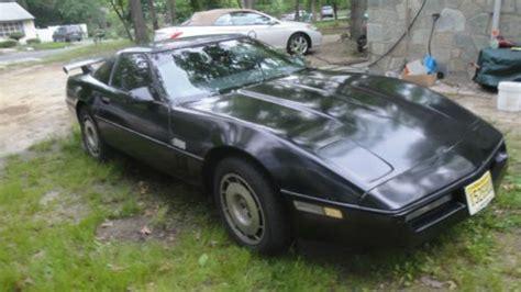 1985 corvette targa top sell used 1985 chevrolet corvette targa top 30k in