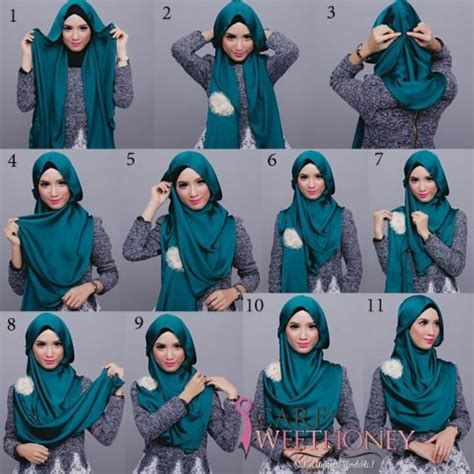 tutorial hijab pashmina turki 36 best images about hijab on pinterest simple hijab
