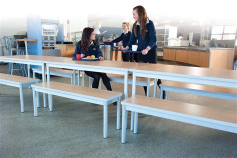 enviro dining tables rectangular school dining tables