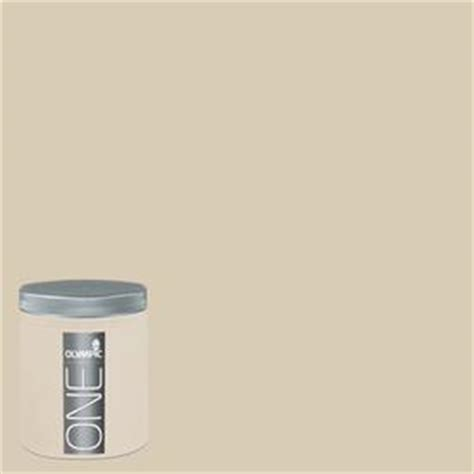 shop olympic 8 oz toasted almond interior satin paint sle at lowes