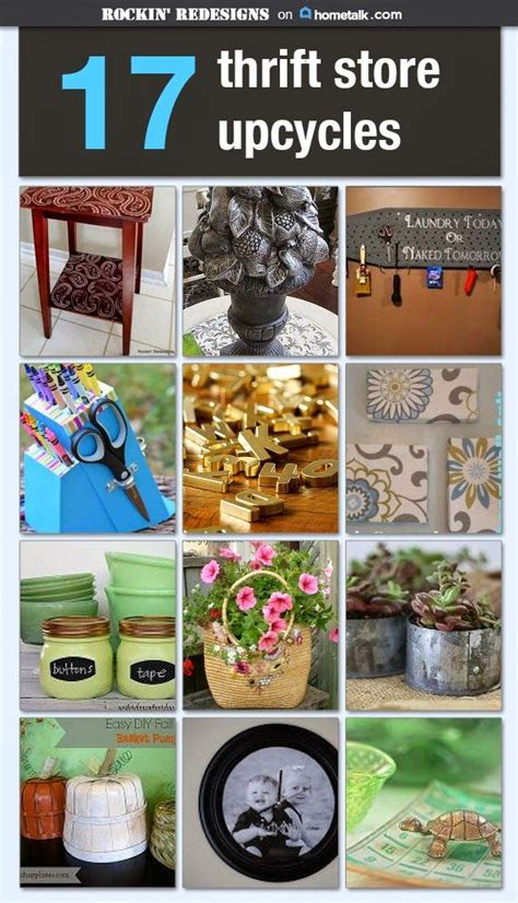 home decor thrift store repurposed home decor with easy to find items at thrift
