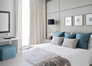 contemporary design master bedroom gray and teal just