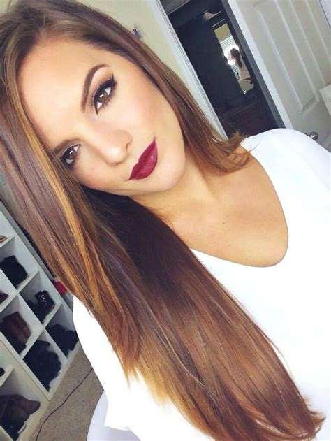 cute brunette hairstyles tumblr adorable brunette casey h clothes curled hair cute
