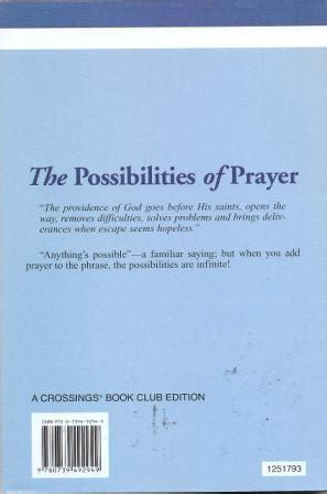 the possibilities of prayer books the possibilities of prayer