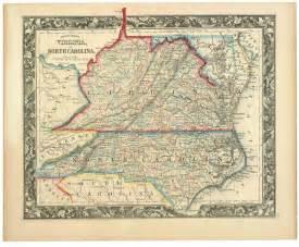 county map of virginia and carolina virginia s many counties boundary stones weta s