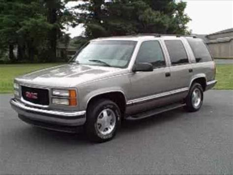 small engine maintenance and repair 1994 gmc yukon auto manual 1999 gmc yukon slt 2wd youtube