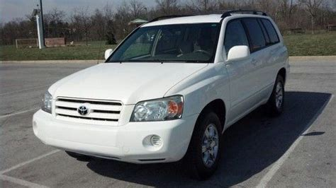 2007 Toyota Highlander 3rd Row Seat Buy Used 2007 Toyota Highlander V6 2wd With 3rd Row
