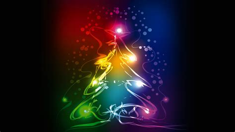 colorful wallpaper for christmas wallpaper christmas tree abstract colorful 4k
