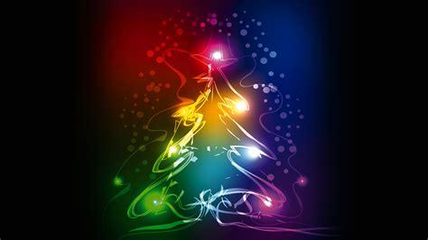 colorful christmas wallpaper desktop wallpaper christmas tree abstract colorful 4k