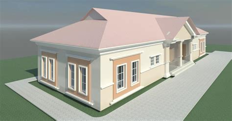 3 Bedroom Flat Plan Drawing construction of two unit semi detached two bedroom flat