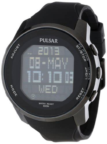pulsar s pq2011 stainless steel digital with
