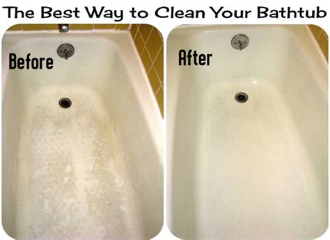 what to clean a bathtub with the best way to clean your bathtub diy craft projects