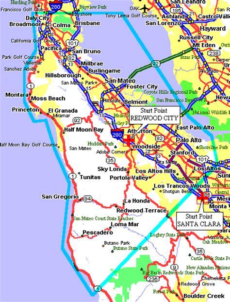 california map redwood city redwood city california map california map