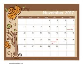 Calendar 2017 Pdf In November 2017 Calendar Pdf Manual 2017 Printable Calendar
