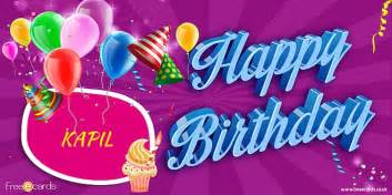 happy birthday kapil birthday cards with indian names