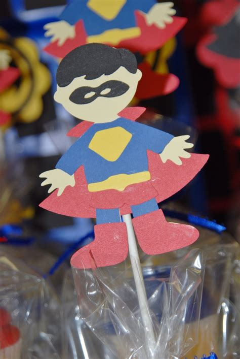 Cupcake Topper Batman Superman 28 best images about baby shower on baby cracker jacks and