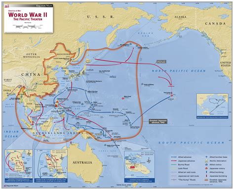 pac maps world war ii the pacific theater map maps