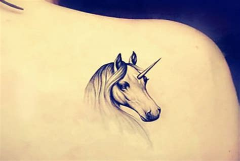 5 exciting unicorn tattoo designs for women gilscosmo