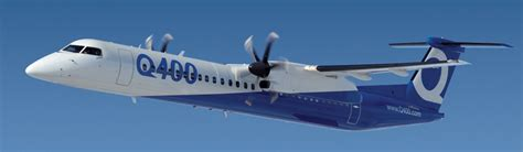 most comfortable commercial airplane bombardier q400