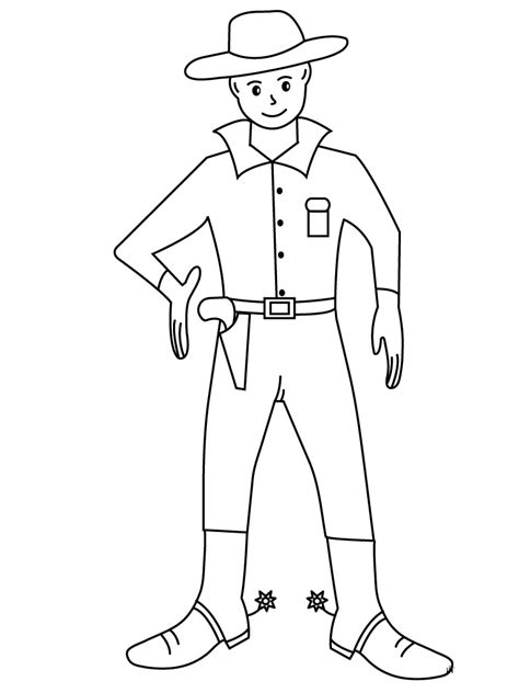 cowboy coloring pages free and printable free printable cowboy coloring pages for kids