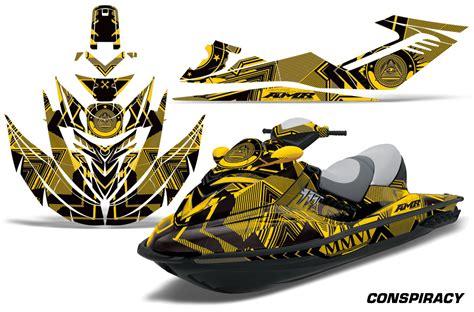 Sea Doo Rxt Jet Ski Graphic Wrap Decal Kit 2005 2009 Seadoo Deal Kits Jet Ski Wrap Templates