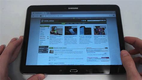 Galaxy Tab 4 10 1 Lte 2065 by Samsung Galaxy Tab 4 10 1 Lte Unboxing And On