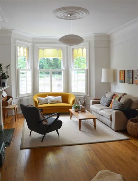Living Room Without A Sofa How To Design With And Around A Yellow Living Room Sofa