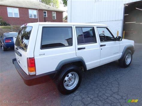 1998 jeep white 1998 white jeep se 4x4 right drive