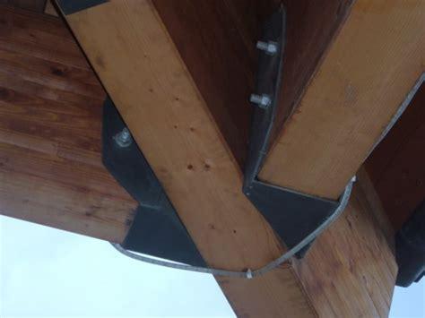 staffe per tettoie in legno strutture in legno tetti e tettoie settimo torinese