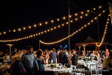 Market Lights by Market Lights At Point Loma Oceanview Wedding San Diego Wedding Lighting